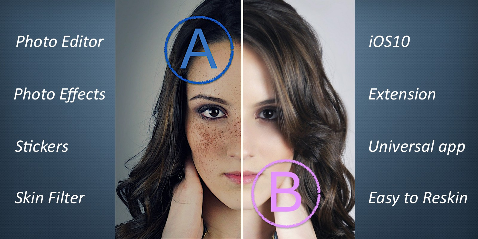 Face makeup - Photo Filters iOS Source Code
