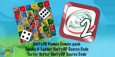 2 Games Bundle Unity3D With Admob 2