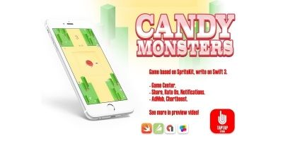 Candy Monsters - iOS App Source Code