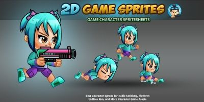 2D Game Character Sprites 8
