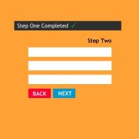 Multiple Step Registration Form