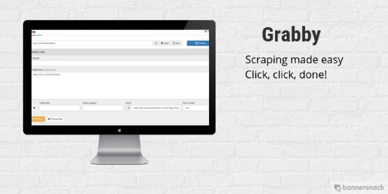 Grabby - Scraping Made Easy
