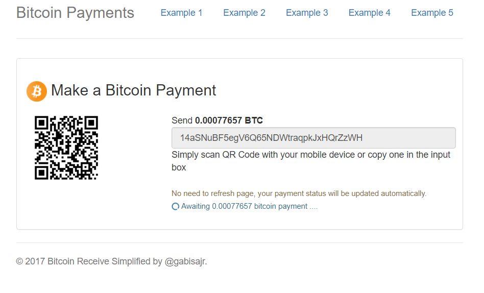bitcoin plata gateway integration php