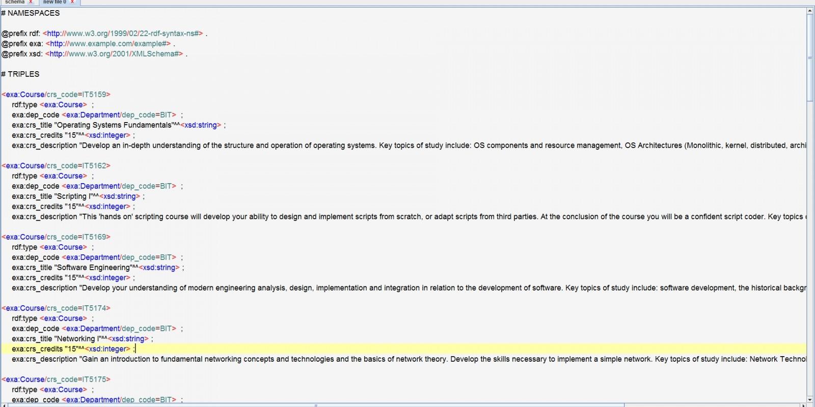 MySQL To RDF Application