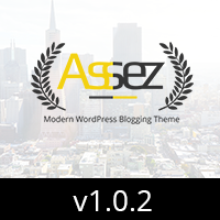 Assez - Modern WordPress Blogging Theme