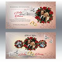 Wedding Invitation 2 Flyer Template