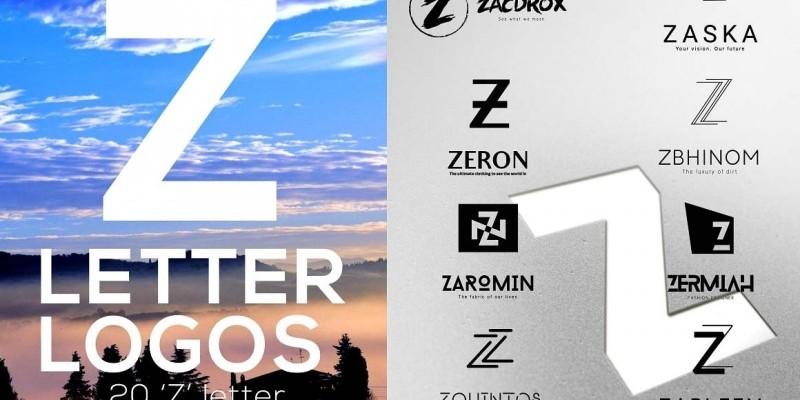 20 Z Letter Logo Templates
