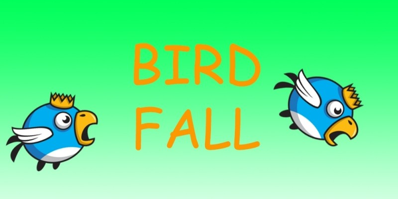Bird Fall - Buildbox Game Template