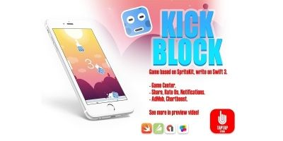 Kick Block - iOS Xcode Source Code
