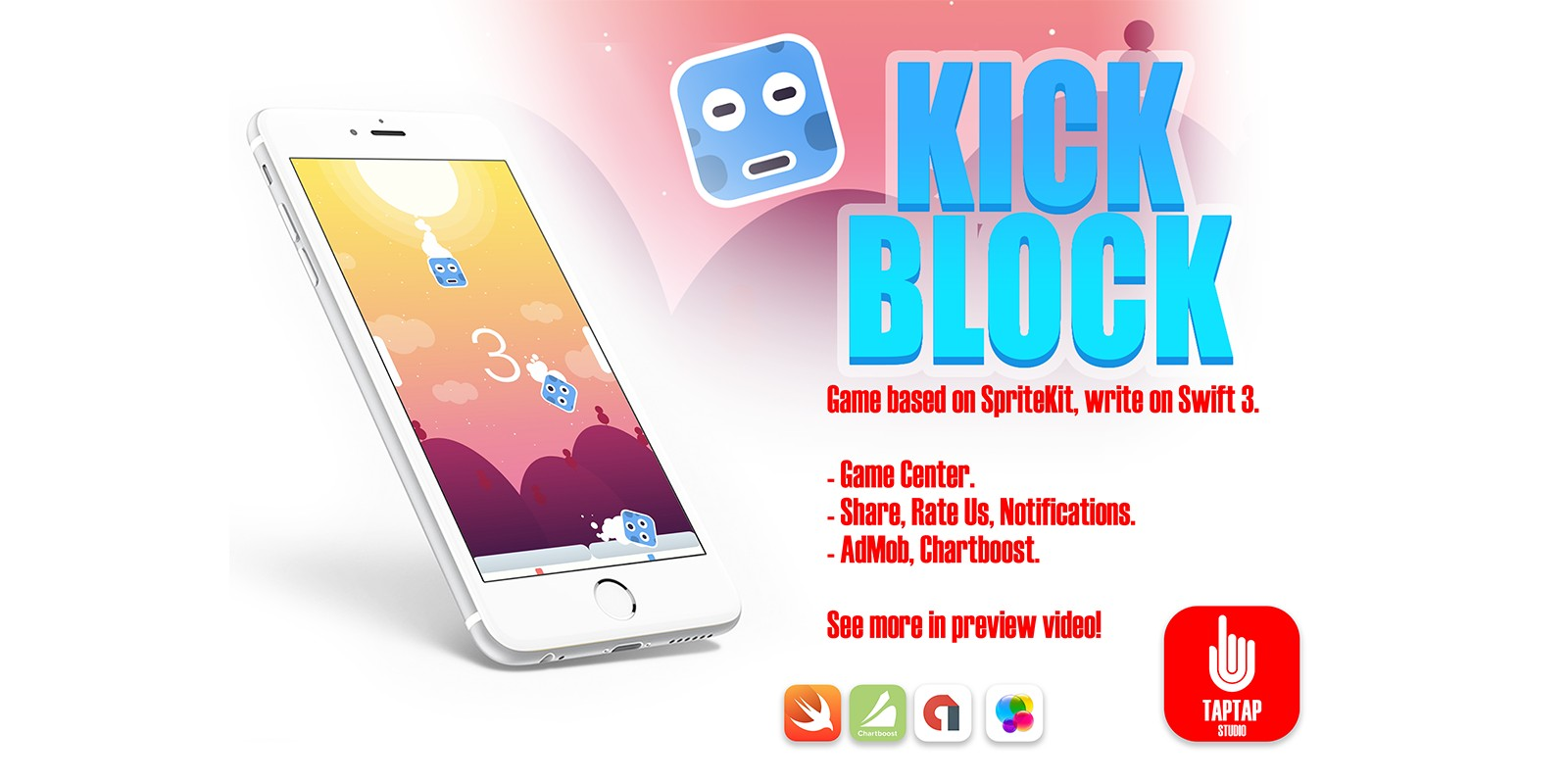 Kick Block - iOS Xcode Source Code