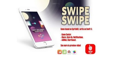 Swipe Swipe - iOS Xcode Source Code