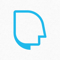 Mind Chat Logo Template