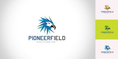 Pioneerfield - Logo Template