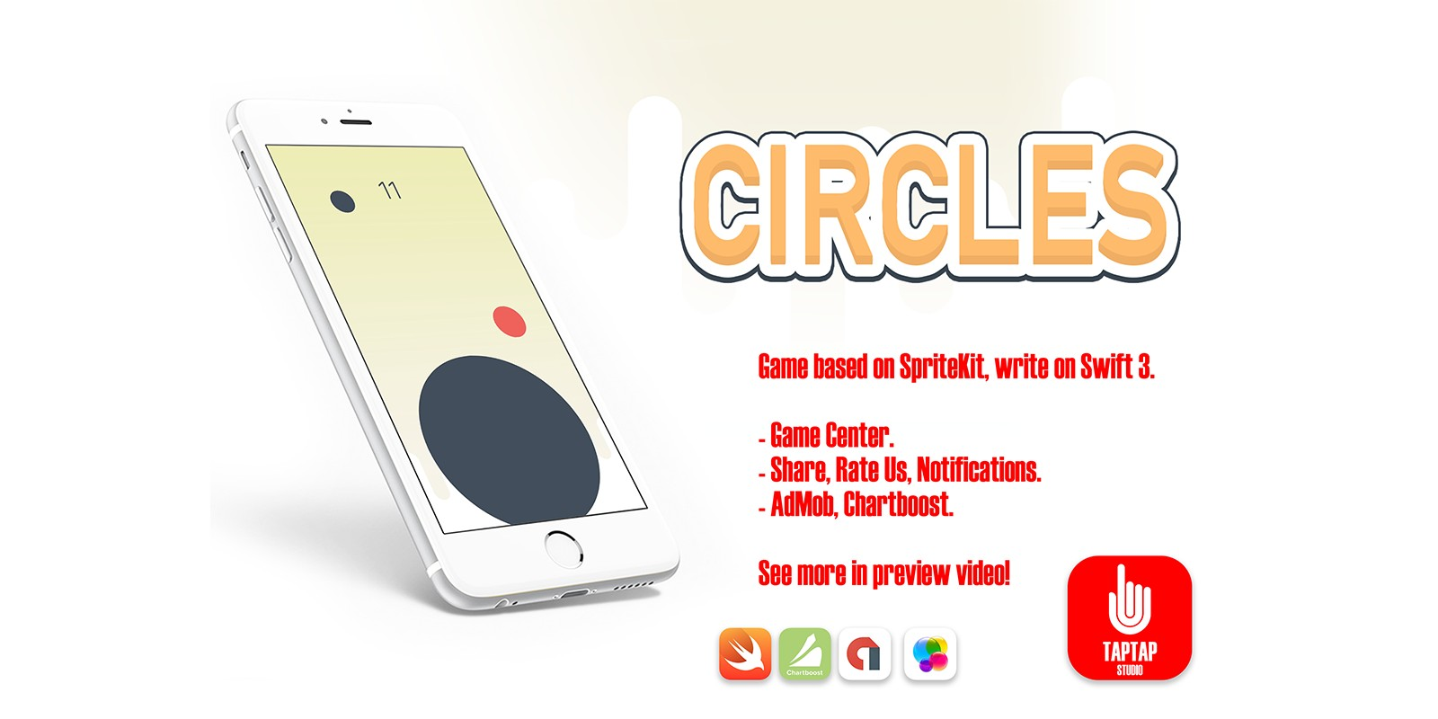 Circles - iOS Xcode Source Code