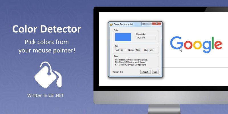 Color Detector Software Source Code