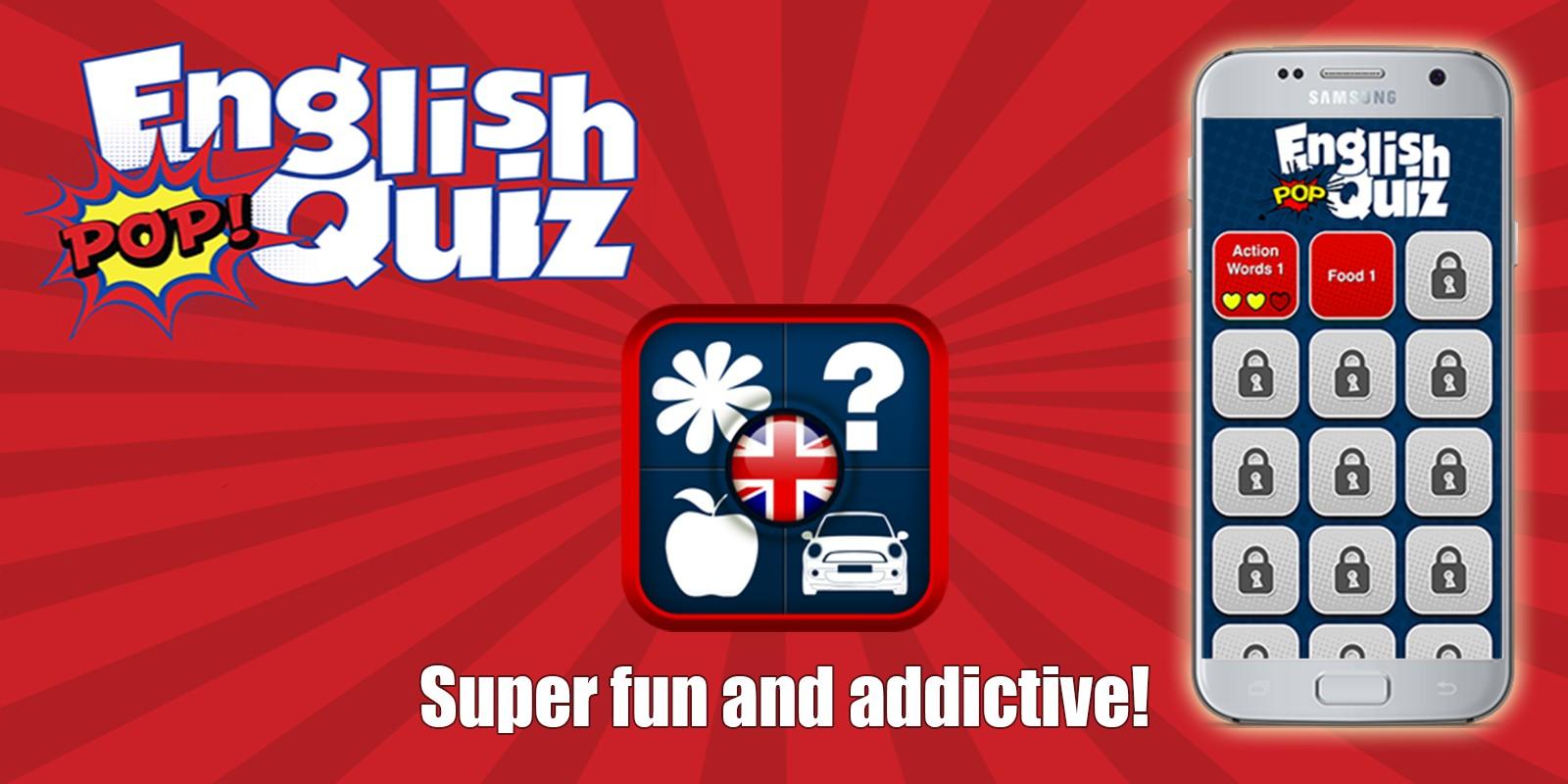 English Pop Quiz - iOS Source Code