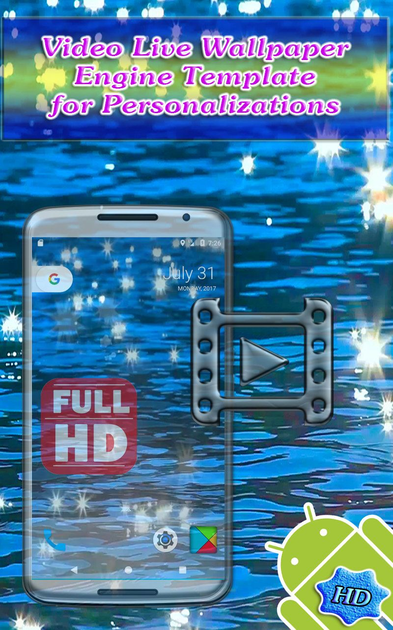 Video Live Wallpaper Engine Template For Android by ...