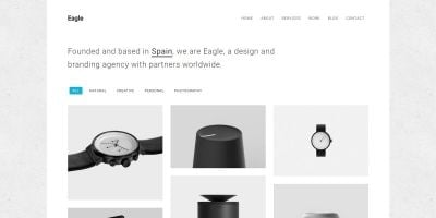 Eagle - Responsive Minimal HTML Template