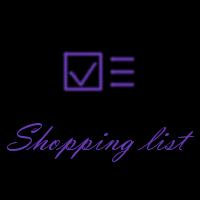 Shopping List - Cordova App Template