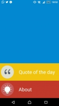 1Quote - Android App Source Code Screenshot 1
