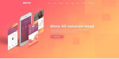 Moto - Multipurpose Landing Page Template