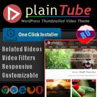 RAWMPlainTube -Video Tube WordPress Theme