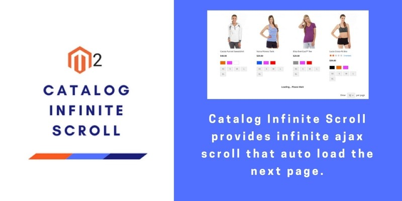 Catalog Infinite Scroll - Magento Extension