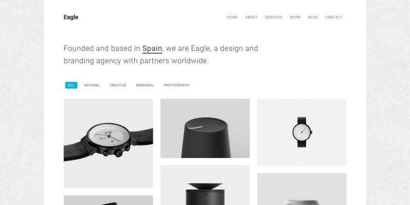 Eagle - Responsive Minimal WordPress Theme