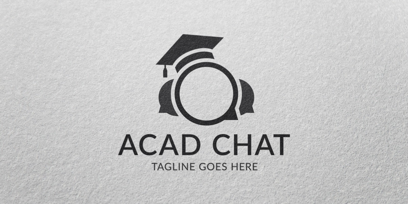 Acad Chat - Logo Template