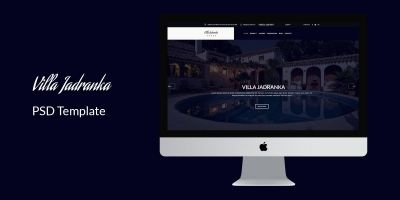 Villa Jadranka - Website PSD Template