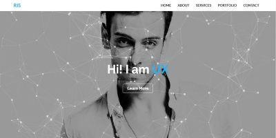 RIS - Personal Portfolio HTML Template
