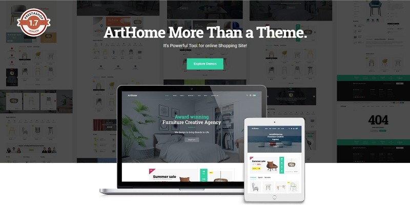 Pts - ArtHome - PrestaShop Furniture Theme