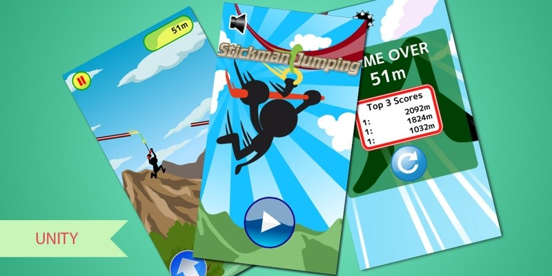 Stickman Jumping Unity Complete Project