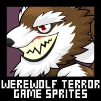 Werewolf Terror - Game Sprites