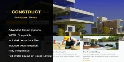 Construct - WordPress Theme