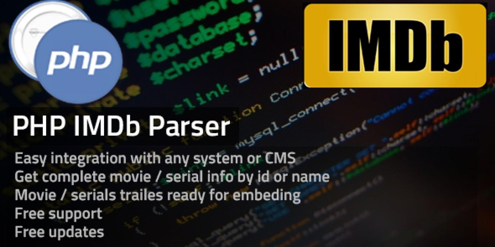 PHP IMDB Parser