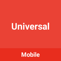 Universal - Mobile Template
