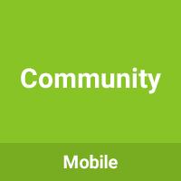Community - Multipurpose Mobile Template