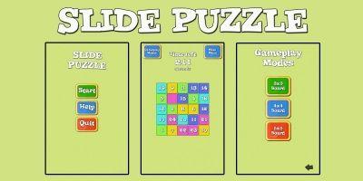 Slide Puzzle Unity3D Project