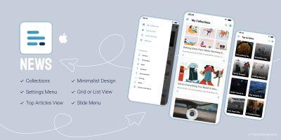 NewsAmp - Swift News Application