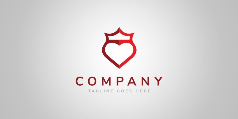 King of Shields - Logo Template