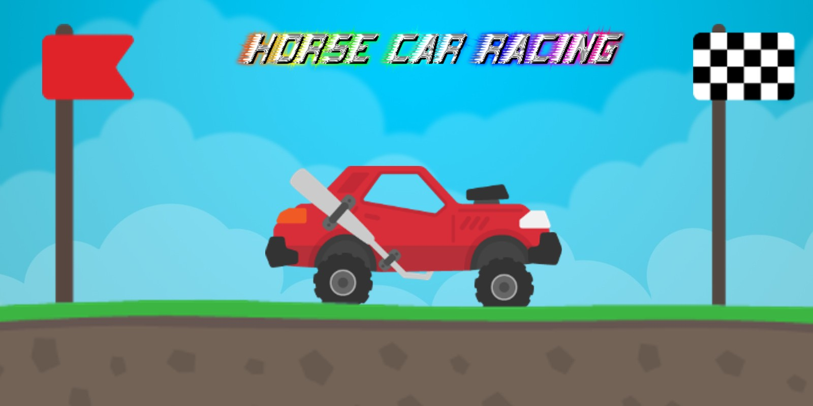 Horse Car Racing - Full Buildbox Project
