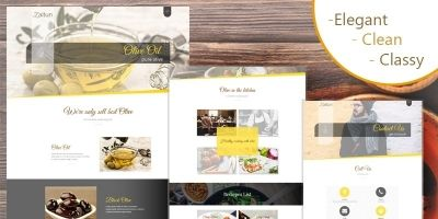 Olive Zaitun - HTML Website Template