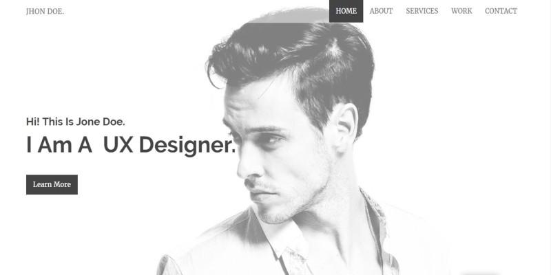 Syno - WordPress Personal Portfolio Theme