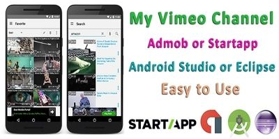 My Vimeo Channel - Android Source Code