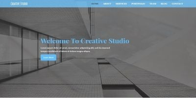 Creative Studio - Business and Portfolio Template