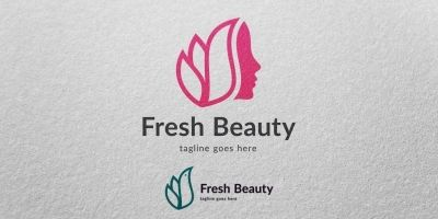 Fresh Beauty - Logo Template