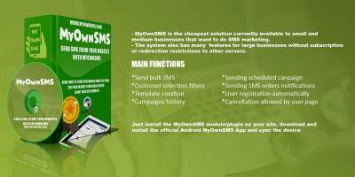 MyOwnSMS - PrestaShop Module
