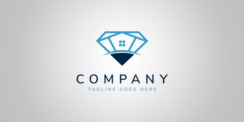 Diamond House - Logo Template