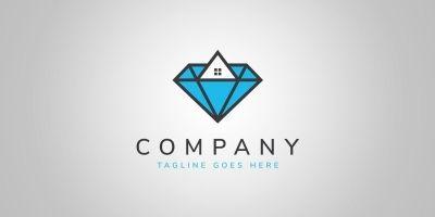 Diamond Properties - Logo Template